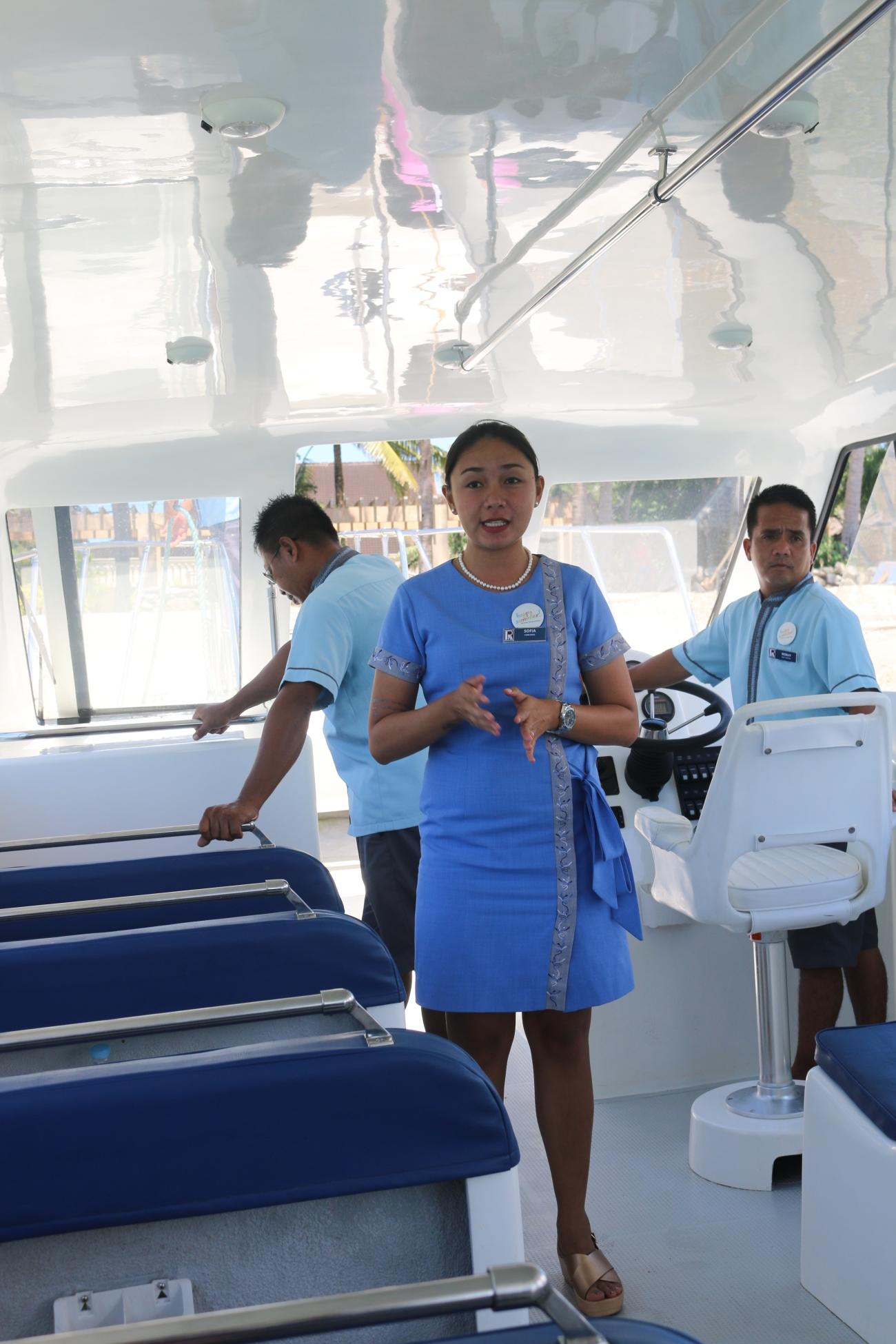 boat usherettes