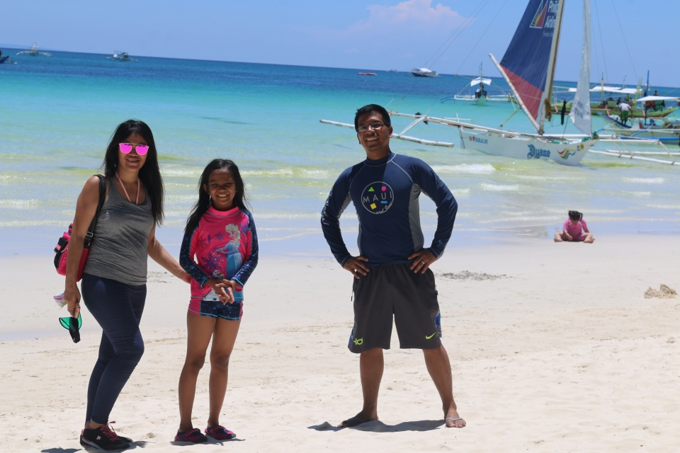 before the island hopping