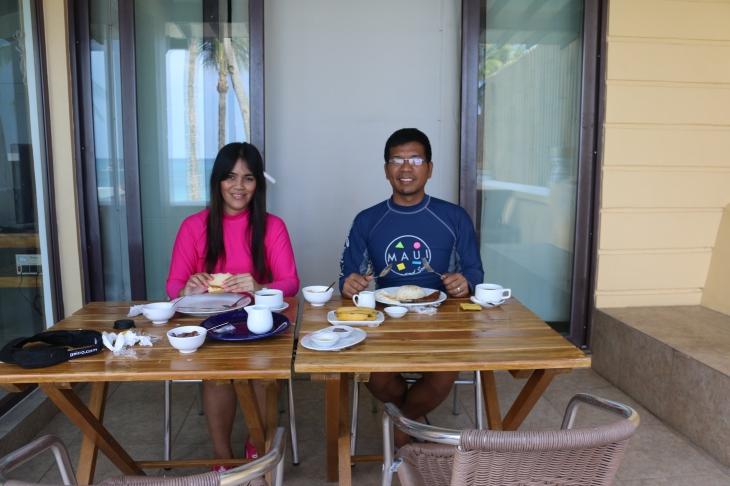 breakfast with sweetie