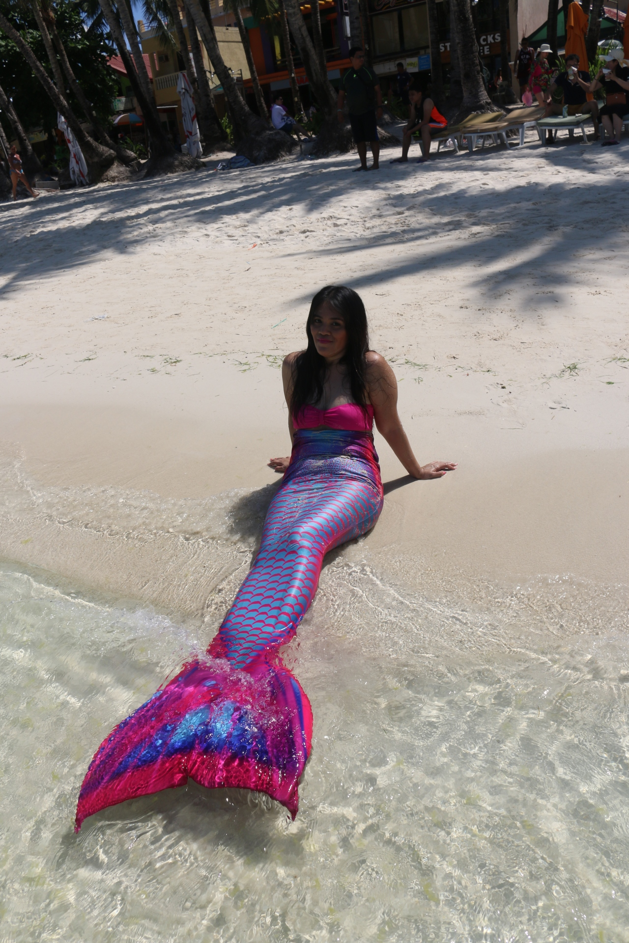mermaid by the seashore
