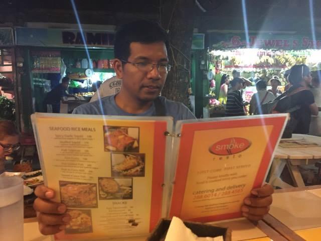 yman smoke menu