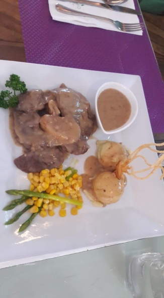 Creamy Bulalo Steakl served with Mashed Potato