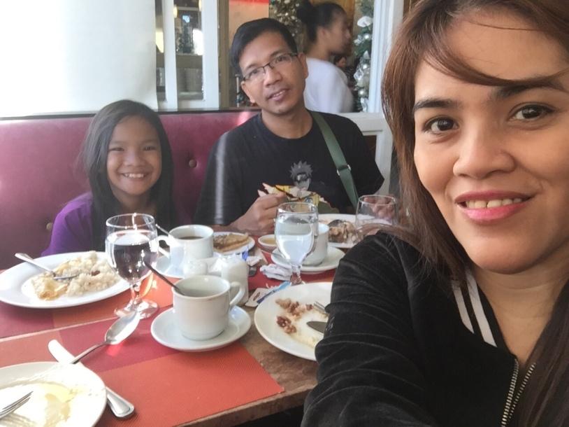 Our breakfast in Te Quiero