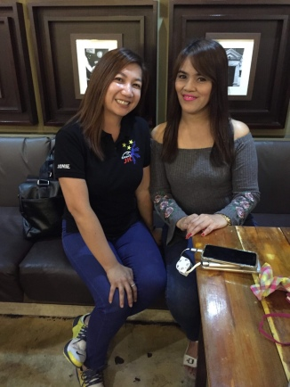 With Ms. Jonie Flores