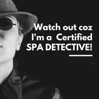 Certified Spa Detective 2018 Part I