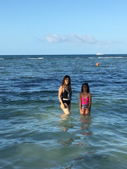 With shane beach
