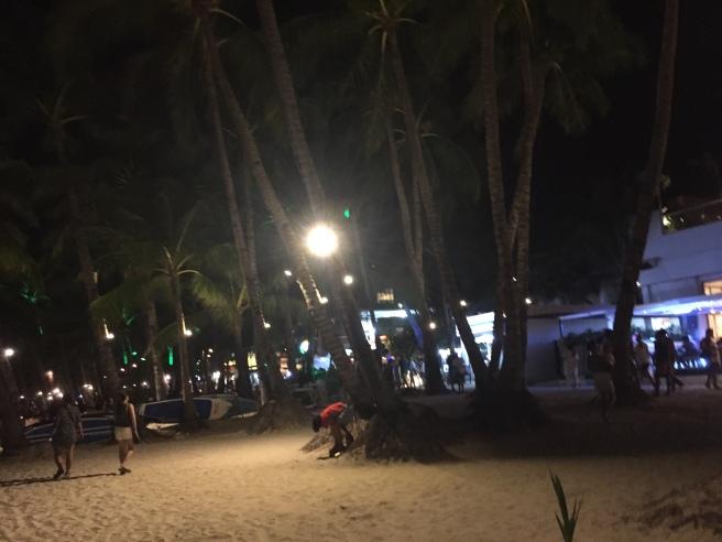 At night day 1