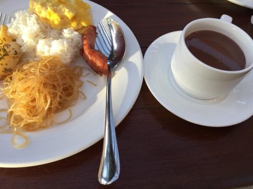 My breakfastday 3 Fairways