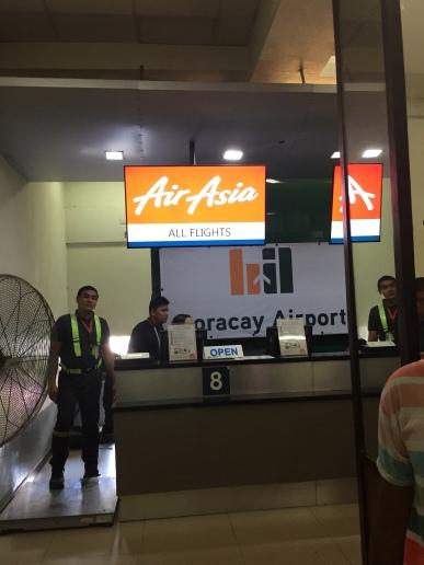 Airasia check in boracay
