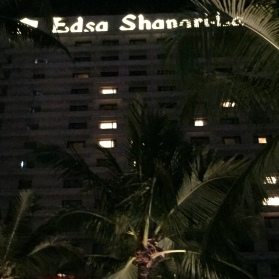 Shangri-la at night