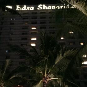 Shangri-la at night