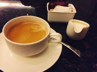 Coffee at horizon Lounge