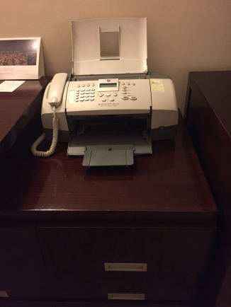 Fax at the suite