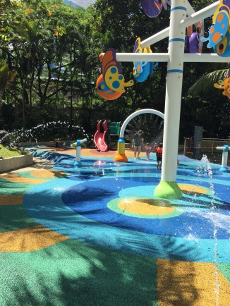 Play area at the pool
