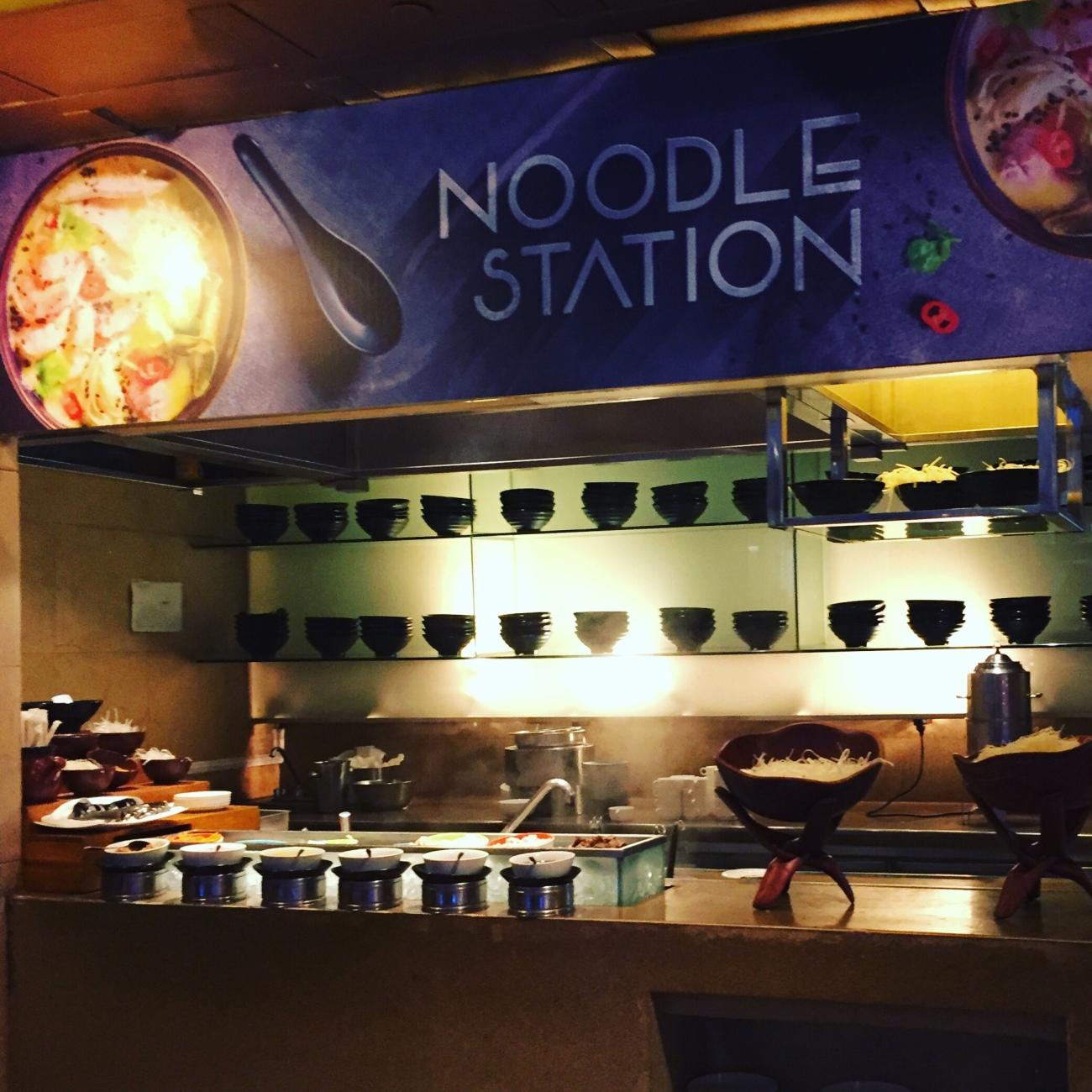 Noodle station