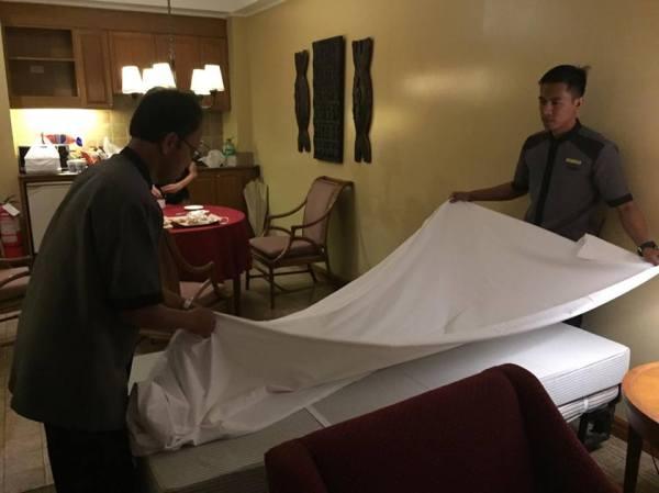 bed set up 2
