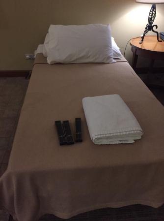 bed set up