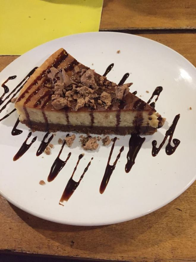 chocnut cheesecake