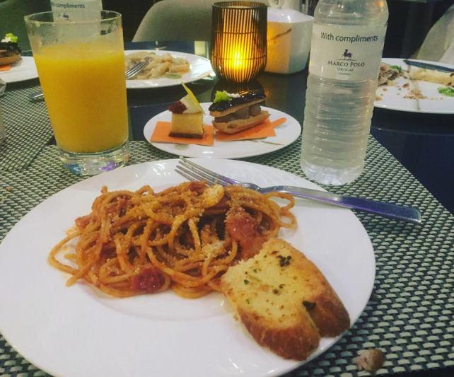 dinner spag