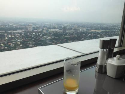 view at the lounge