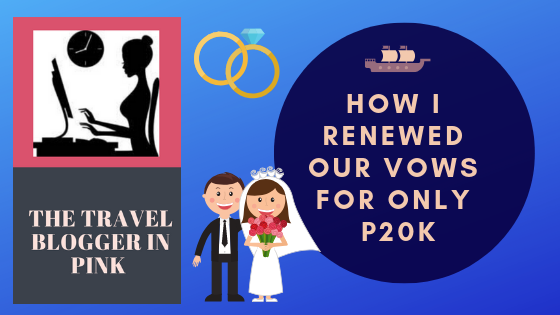 How I renewed our vows