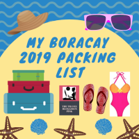 My Boracay 2019 Packing List