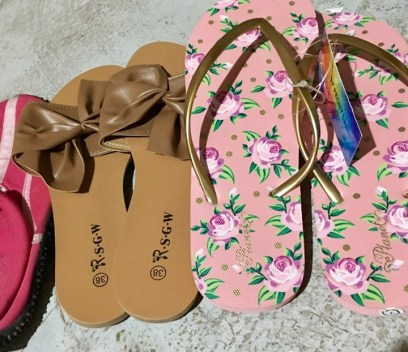 slippers and sandals