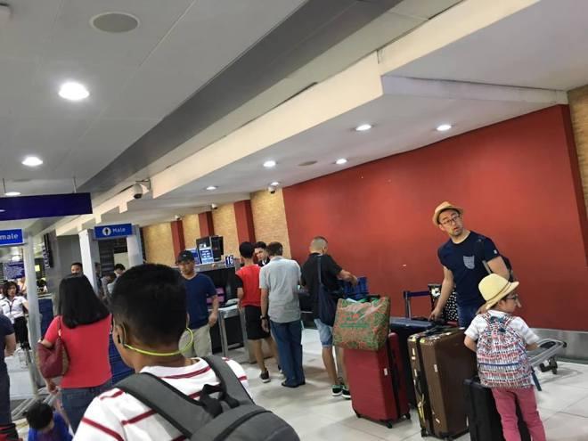 baggage drop