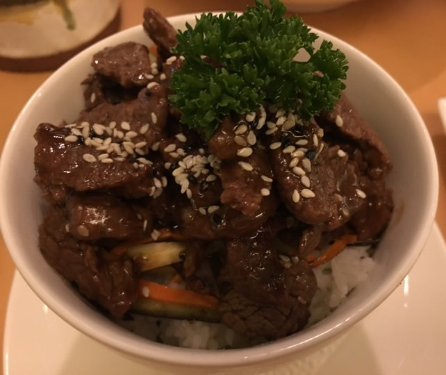 Beef Teriyaki 420