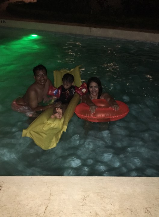 night swimming 1