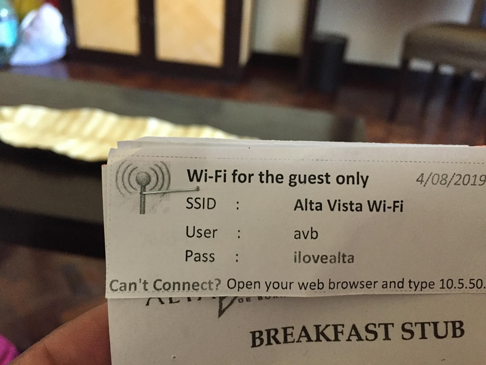 stubs and wifi password