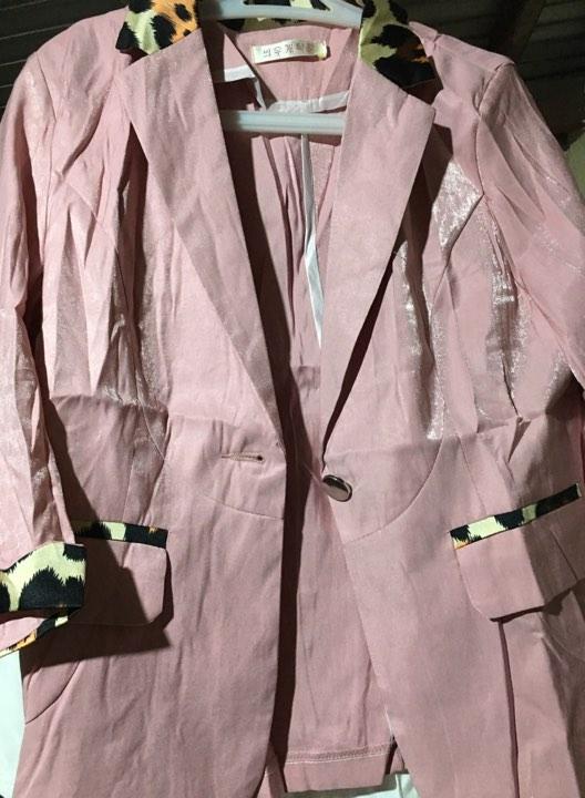 pink blazer P350
